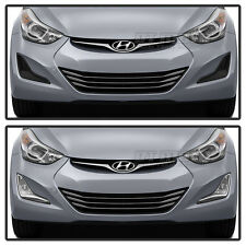 For 2014-2015 Elantra Bumper Fog Lights Lamps w/Switch Replacement Left+Right