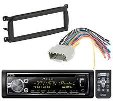 Pioneer DEH-X6000BT Bluetooth CD Player Car Radio Install Mount Kit Radio Harnes