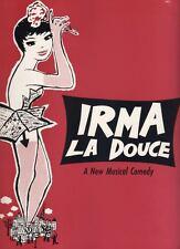 """Irma La Douce""  Souvenir Program  OBC  1960  Elizabeth Seal & Keith Mitchell"