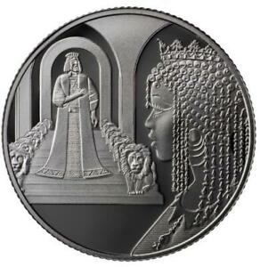 ISRAEL COIN & MEDAL 2021 KING SOLOMON AND THE QUEEN OF SHEBA PROOF 999 SILVER