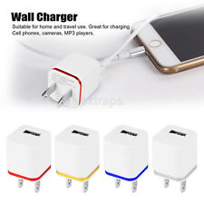 1A Mini USB 1 Port Wall Home Travel AC Charger Adapter US Plug For Smart Phone
