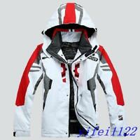 Men's Winter Waterproof Outdoor Coat Ski Suit Jacket Snowboard Clothing Hooded