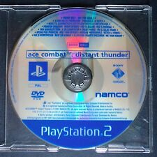 promo ACE COMBAT DISTANT THUNDER PlayStation 2 UK PAL・♔・pre-release full game PS