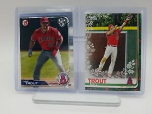MIKE TROUT ANGELS Lot of 6 Baseball Cards