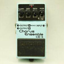 BOSS CE-5 Chorus Ensemble Blue label Guitar effect pedal Free shipping (ZD36355)