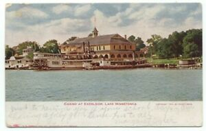 Casino At Excelsior Lake Minnetonka MN c1911 Postcard ~ Minnesota