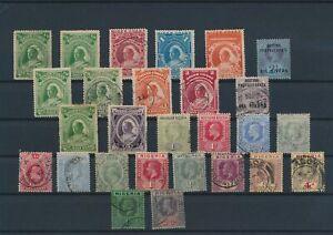LN24868 Great Britain territories british monarchs fine lot used