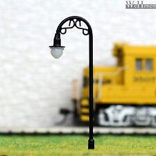 25 pcs HO or OO scale Model Lamppost 12V street light Metal Lamp #R2-7