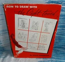 How to Draw with the Light Touch by Doug Anderson and Mary Anne Guitar 1954