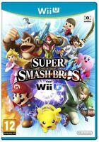 Nintendo Wii U Spiel - Super Smash Bros. EU mit OVP