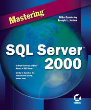 NEW Mastering SQLServer 2000 by Joseph L. Jorden