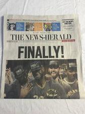 Cavs NBA Champions 6-20 News-Herald News Paper Northeast Ohio