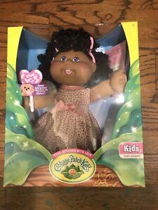 Cabbage Patch Kids Doll Lollipop Soft-sculpt NEW W BIRTH CERT Hispanic