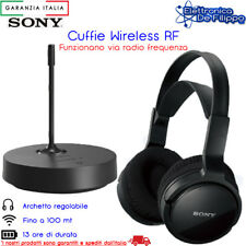 Cuffie TV Senza Fili Wireless wifi Stereo Sony RF811RK 1c3a820253b7