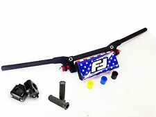 Fasst Co Flexx 14 Quad Racer Handlebars Bars USA Pad Clamps Grips Universal ATV