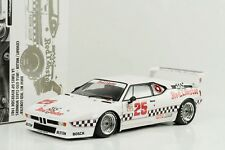1981 BMW M1 # 25 Red Lobster IMSA GP Riverside Gangant 1:18 Minichamps 504