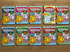 (1,49€/St) 4 Sudoku Experten Rätsel Hefte Gehirnjogging Logikrätsel für Zuhause