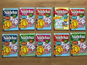 (1,49€/St) 4 Sudoku Experten Rätsel Hefte Gehirnjogging Logikrätsel Zahlenrätsel