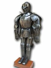 Suit Of Armor With Breast Plate Leg Guard And Shoulder Guard and Helmet