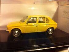 PEUGEOT  104 GL BERLINE 1973 / 1975 LABEL43  1/43 Jaune clair   artisanale