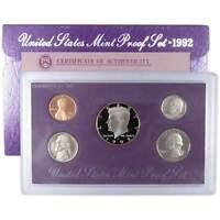 1992 S U.S. Mint Proof Set