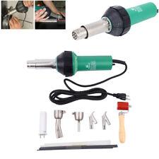 1500W Plastic Welder Hot Air Gun Torch Welding Heat Gun Handhold Rod Sets