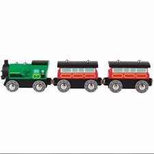 Hape vapeur E3719-Era passager Magnétique Train Inc 3 Pcs Chemin De Fer Enfants ...