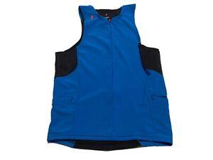 Specialized Women's Cycling Jersey Top Shirt SIZE Medium Black & Blue