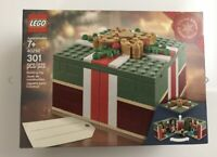 NEW IN BOX LEGO 2018 Christmas Gift Box Present 40292 retired SEALED