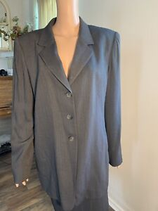 linda allard ellen tracy Blazer Long Sleeve  Sz 14