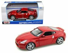 Maisto 2009 Nissan 370Z Diecast Model Car Special Edition Red 1:24