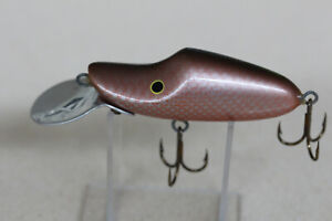Vintage wooden fishing lure