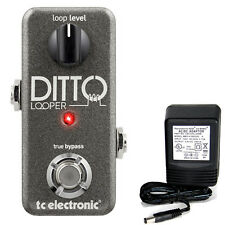 TC Electronic Ditto Looper pedal w/ 9v power supply free shipping!