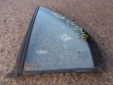VAUXHALL OMEGA SALOON PASSENGER SIDE REAR QUARTER GLASS / BACK WINDOW left hand