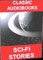 17 POPULAR CLASSIC SCI-FI NOVELS MP3 FULL LENGTH UNABRIDGED AUDIOBOOKS MP3 DVD