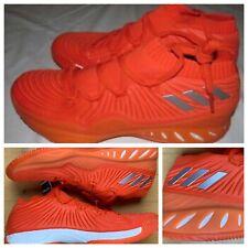 Adidas SM Crazy Explosive NBA Mens Basketball Shoes Orange White B75928 Size 17