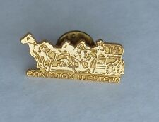 Canadian Western CS Calgary Stampede Chuckwagon Lapel Souvenir Pin