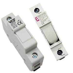PV-Sicherungshalter Sicherungstrennschalter 1 Polig 10x38mm 25A 32A 1000V DC