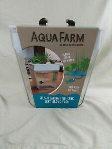 Aqua Farm Self Cleaning Fish Tank Grows Food Fish Mini Aquaponic Beta Tank