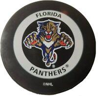 FLORIDA PANTHERS NHL VINTAGE INGLASCO GARY B. BETTMAN OFFICIAL GAME PUCK
