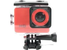 Cámara Deportiva - SK8 CAM HD 720P, Sumergible, Formato AVI, Micro USB, Rojo