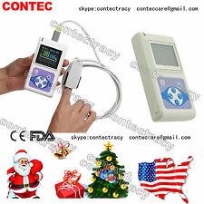 US ship! CONTEC FDA Color TFT Handheld Pulse Oximeter,SW,Spo2 Monitor CMS60D,NEW