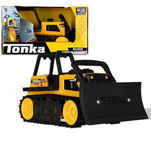 Tonka Steel Classic Bulldozer Truck Toy Made With Metal