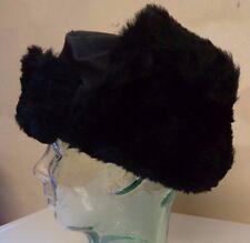 Job Lot New Kids Boys Girls Faux Fur Ushanka Russian Hat Black Age 8-10 x 15
