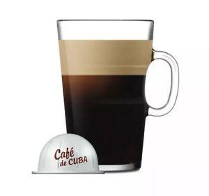 Nespresso VertuoLine Cafe De Cuba Coffee Capsule Pods - 10 Pods in Sleeve