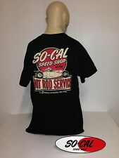 So-Cal t-shirt black size L hot rod service 32 ford