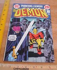 The Demon #8 comic VF+ 1970's Bronze age Jack Kirby art Phantom of the Sewers