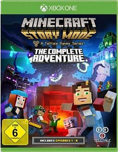 Minecraft: Story Mode - The Complete Adventure (XBOX ONE) gebr.-gut