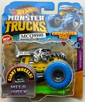 2020 HOT WHEELS MONSTER TRUCKS GIANT WHEELS MEGA-WREX
