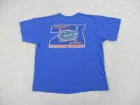 Nike Florida Gators Shirt Adult Extra Large Blue Green College Football Men B29*